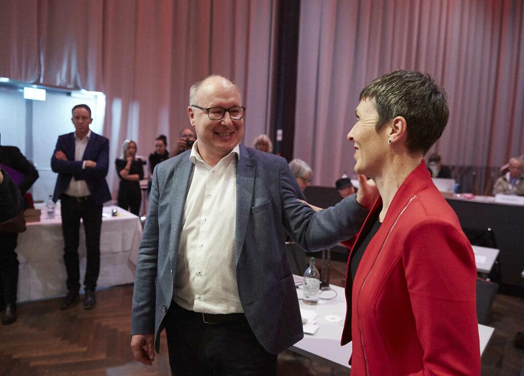 Wahl eines neuen SGB-Präsidiums