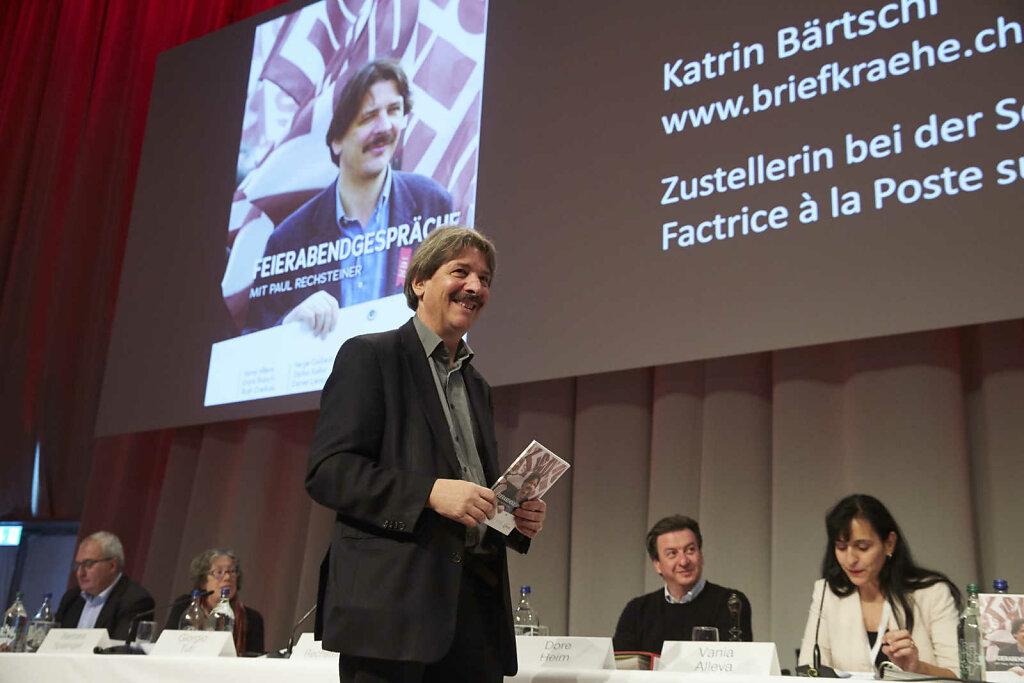 Abschied von Paul Rechsteiner als SGB-Präsident