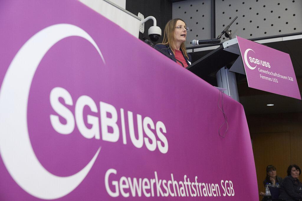 SGB-Frauenkongress   Congrès des femmes de l'USS