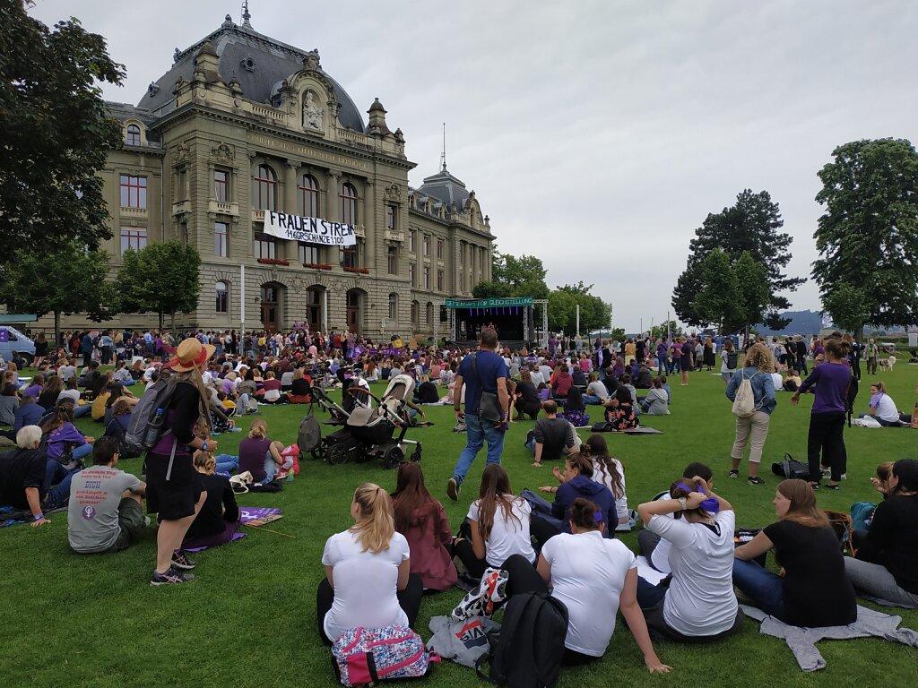 Frauen*streik, 14. Juni 2019, Bern