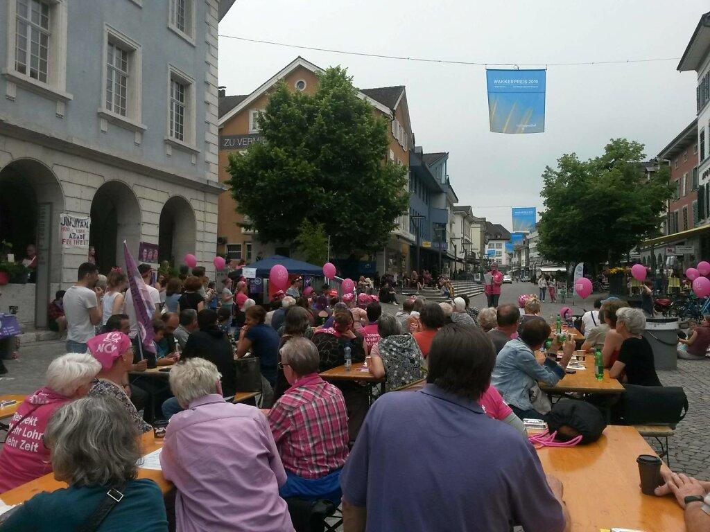 Frauen*streik, 14. Juni 2019, Langenthal