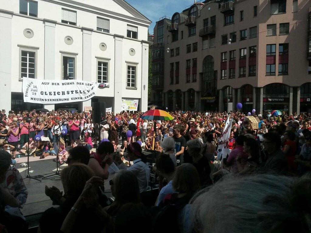 Frauen*streik, 14. Juni 2019, Luzern