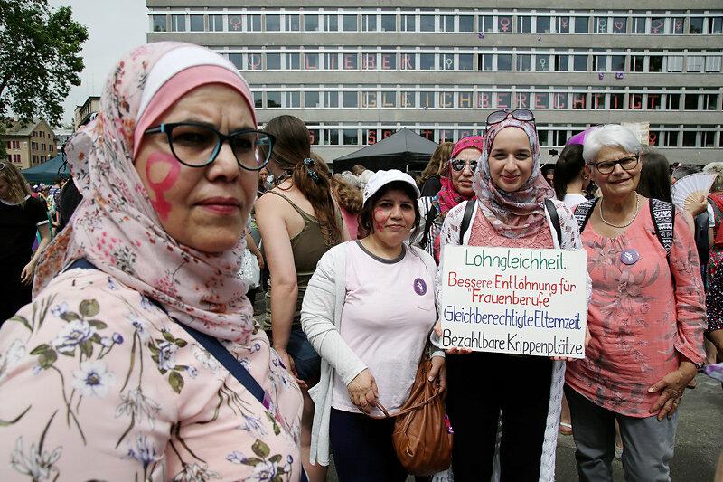 Frauen*streik/grève des femmes*, Zürich