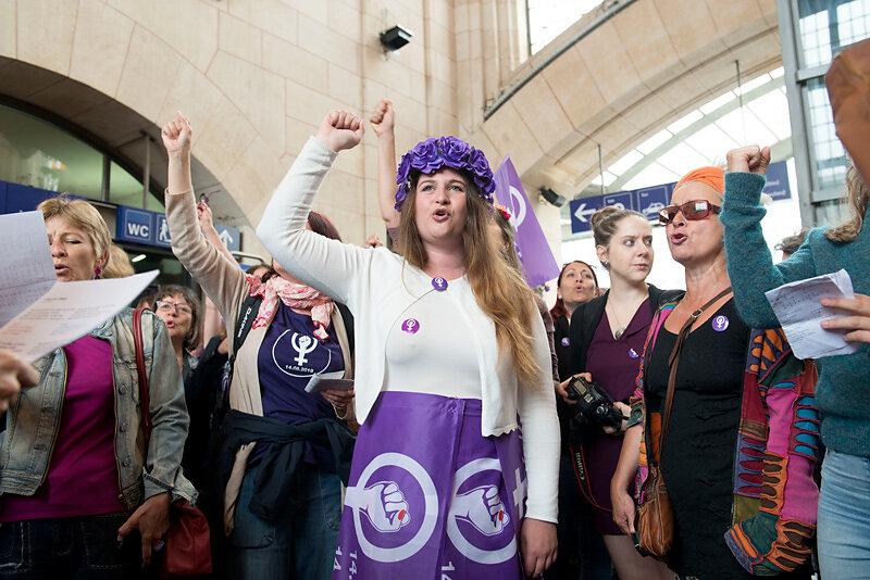 Frauen*streik/grève des femmes*, Lausanne