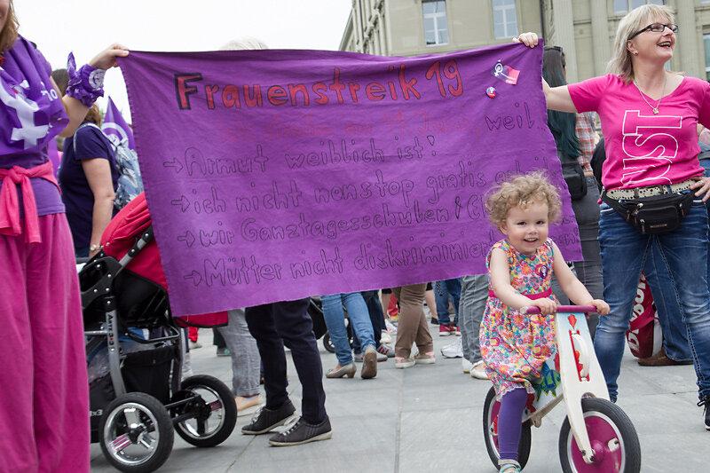 Frauen*streik/grève des femmes*, Bern