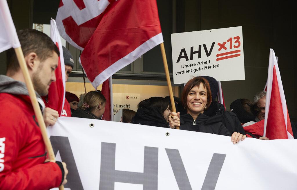 Lancierung «AHVx13» | Lancement « AVSx13